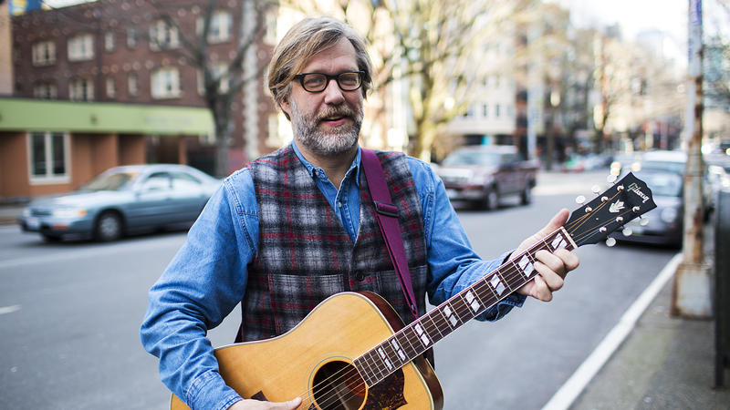 John Roderick is the lead signer and guitarist for local indie rock band The Long Winters.