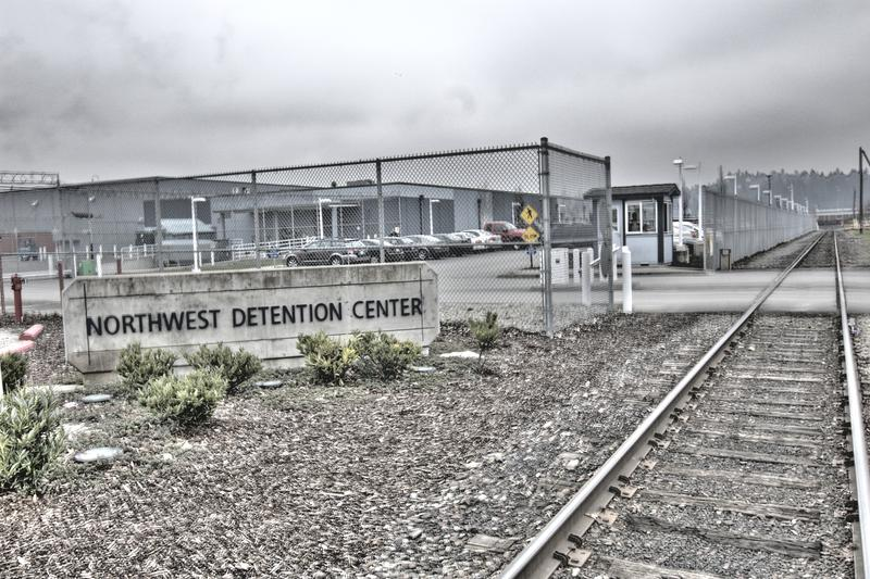 The Northwest Detention Center in Tacoma is run by a private company under contract with U.S. Immigration and Customs Enforcement.