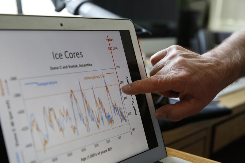 Data used in climate research is among the information many scientists are concerned about under the Trump administration, so they're working to copy it off of government servers at events including one this weekend at the University of Washington.