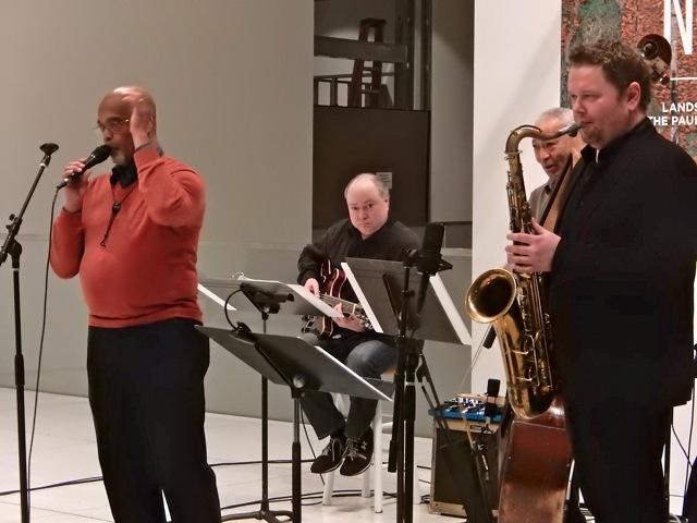 Bernie Jacobs, Dave Peterson, Phil Sparks (partially hidden), Alexey Nikolaev