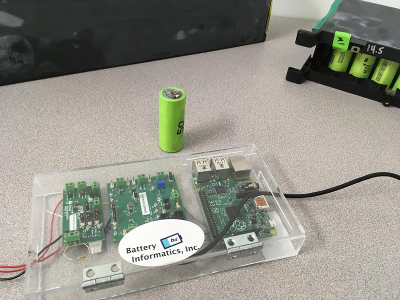 "Battery Informatics' power management device uses a ""self-learning"" concept to as much as double the life of lithium-ion batteries."