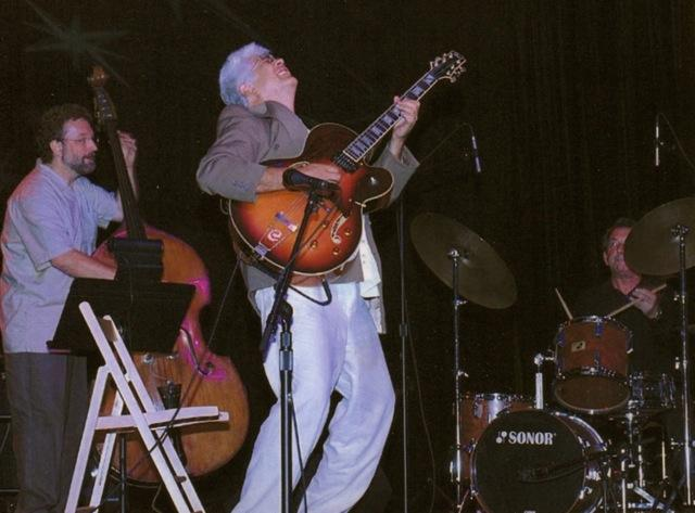 Chuck Deardorf, Larry Coryell, and Dean Hodges at The Triple Door - September 9, 2004