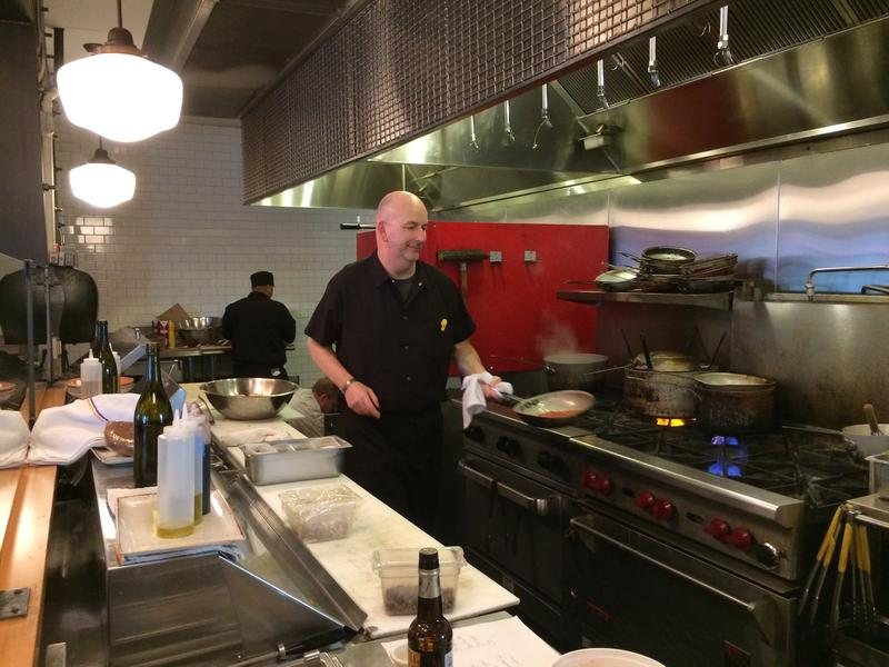 Chef Charlie McManus at Tacoma's Primo Grill