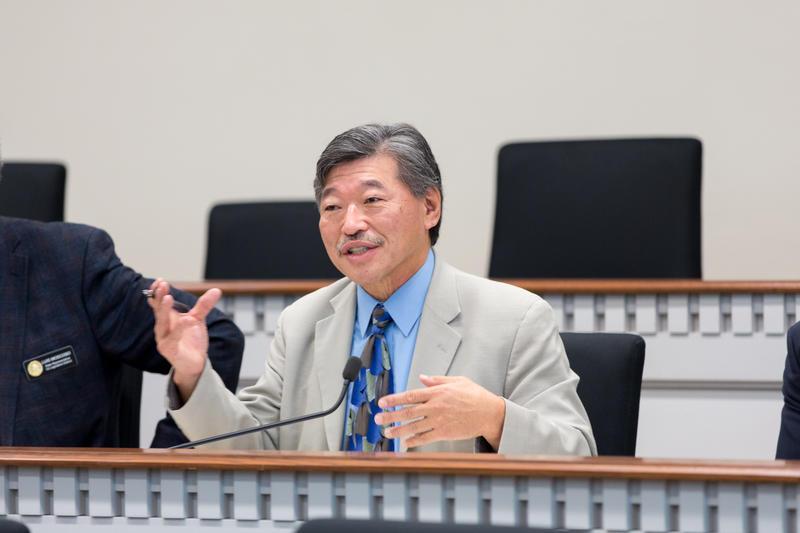 Washington state Sen. Bob Hasegawa