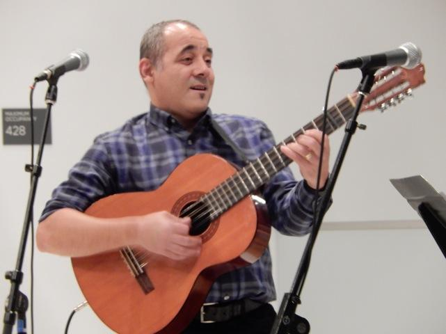 "Felix Enrique ""Kiki"" Valera at The Seattle Art Museum  3/9/17"