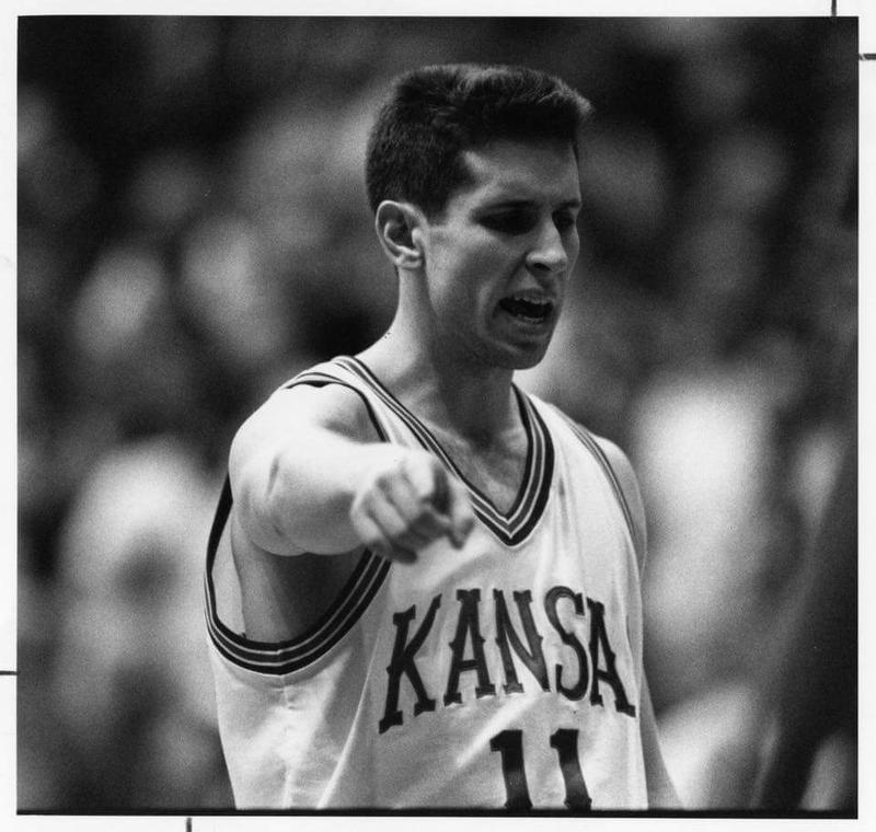 Lane Czaplinski, the artistic director for On The Boards, played basketball at Kansas in 1992.