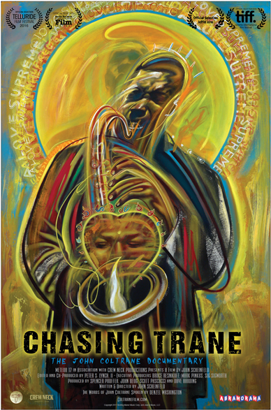 poster for the film Chasing Trane