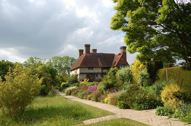 Wander the gardens at Great Dixter, in Kent, a county southeast of London.