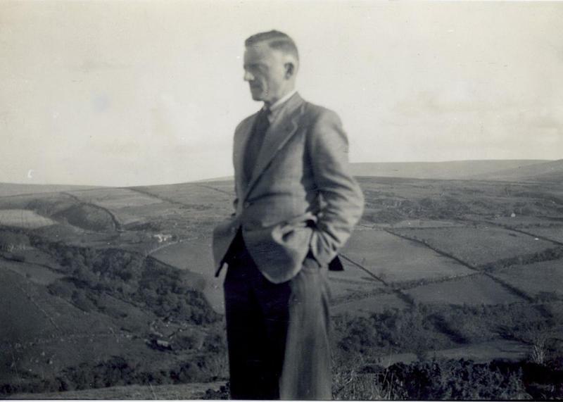 Dominic's father John Black in Glenshesk, Ireland.