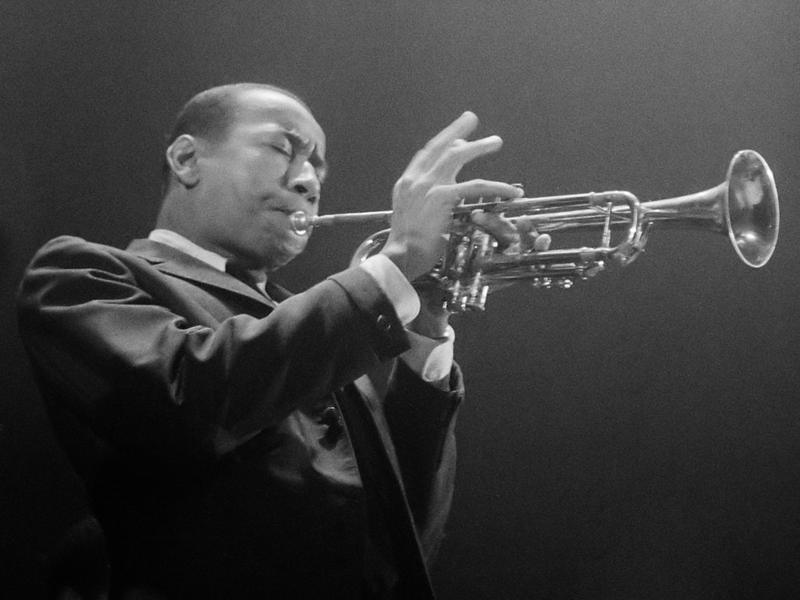 Trumpeter Lee Morgan in Amsterdam, 1959