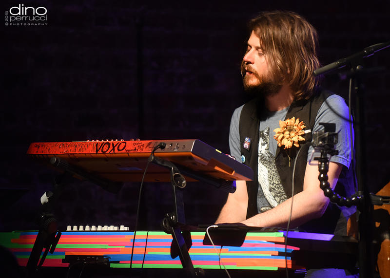 A young Marco Benevento let's his fingers do the talking.