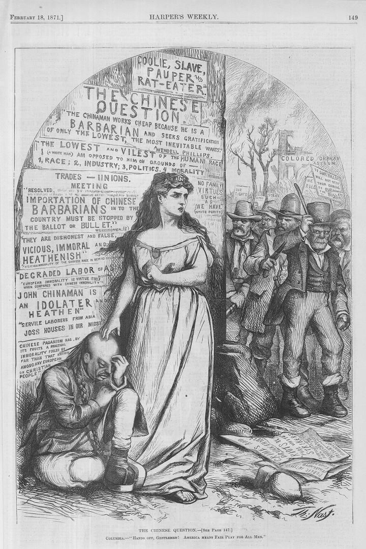 Harper's Weekly, February 18, 1871.