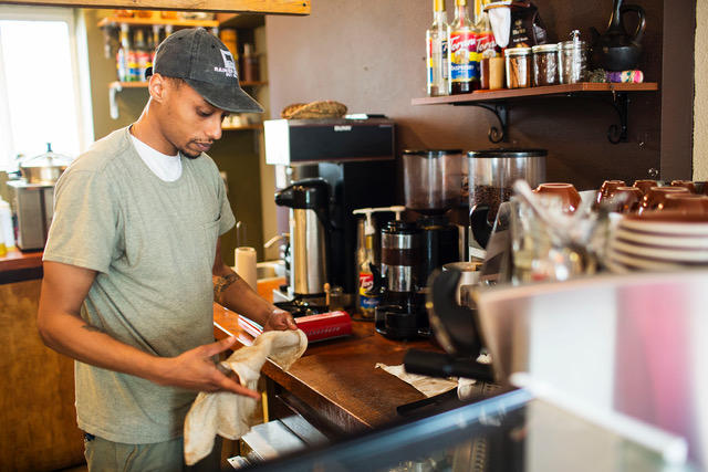 Solomon Dubie is the founder of Cafe Avole in Rainier Valley.