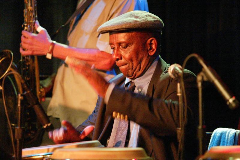 Master drummer Francisco Aguabella