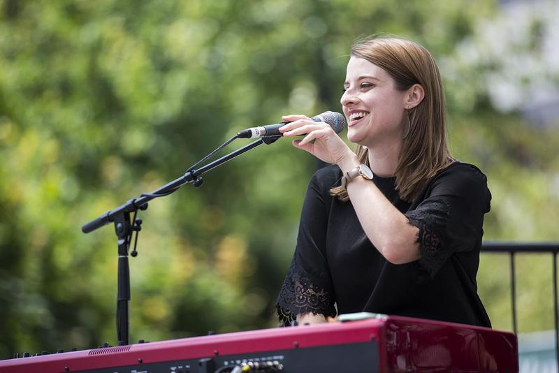 Bellevue native, Ariel Pocock performed at this year's festival. She recently released her second album