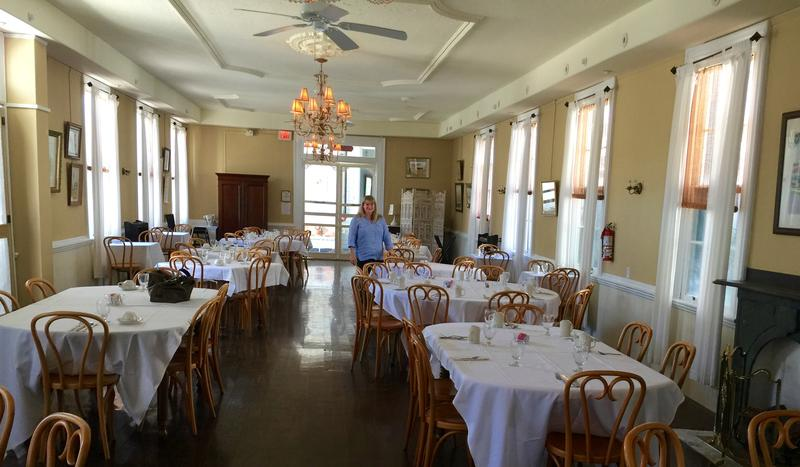 Nancy returns to Cape May's Chalfonte Hotel, site of her first restaurant job.