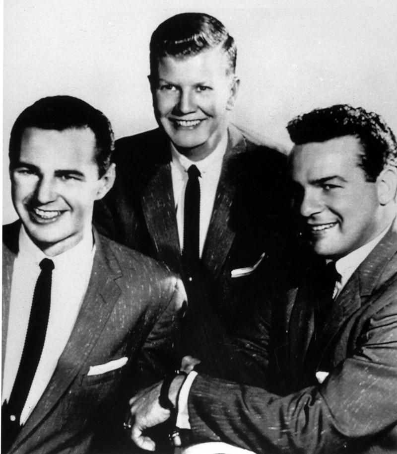Billy Tipton (center) in an undated photo with his trio.