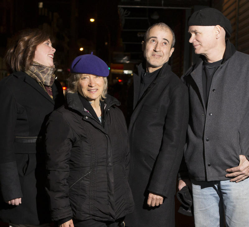 Dawn Clement, Jane Ira Bloom, Bobby Previte, Mark Helias.