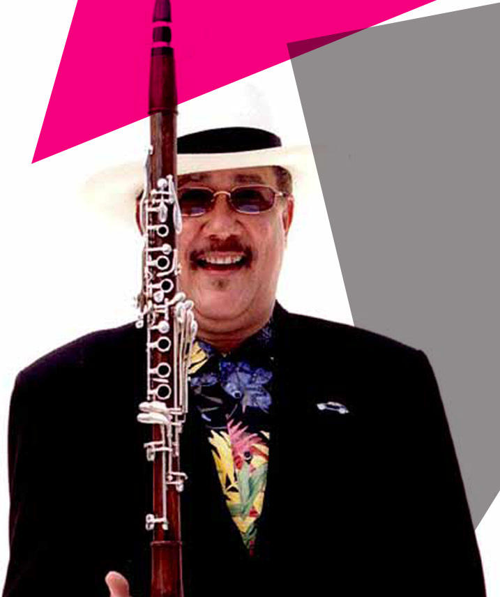Paquito D' Rivera with clarinet