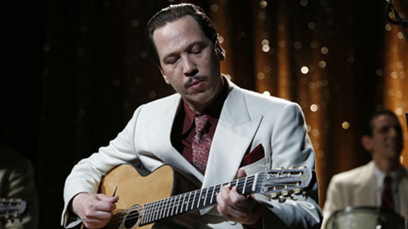 Reda Kateb as Django Reinhardt in the 2017 French film
