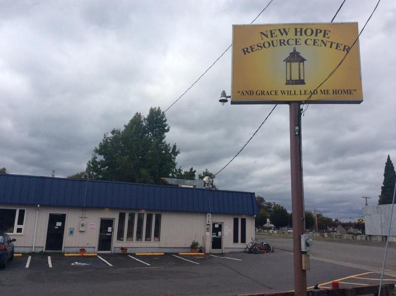 The New Hope Resource Center in Puyallup