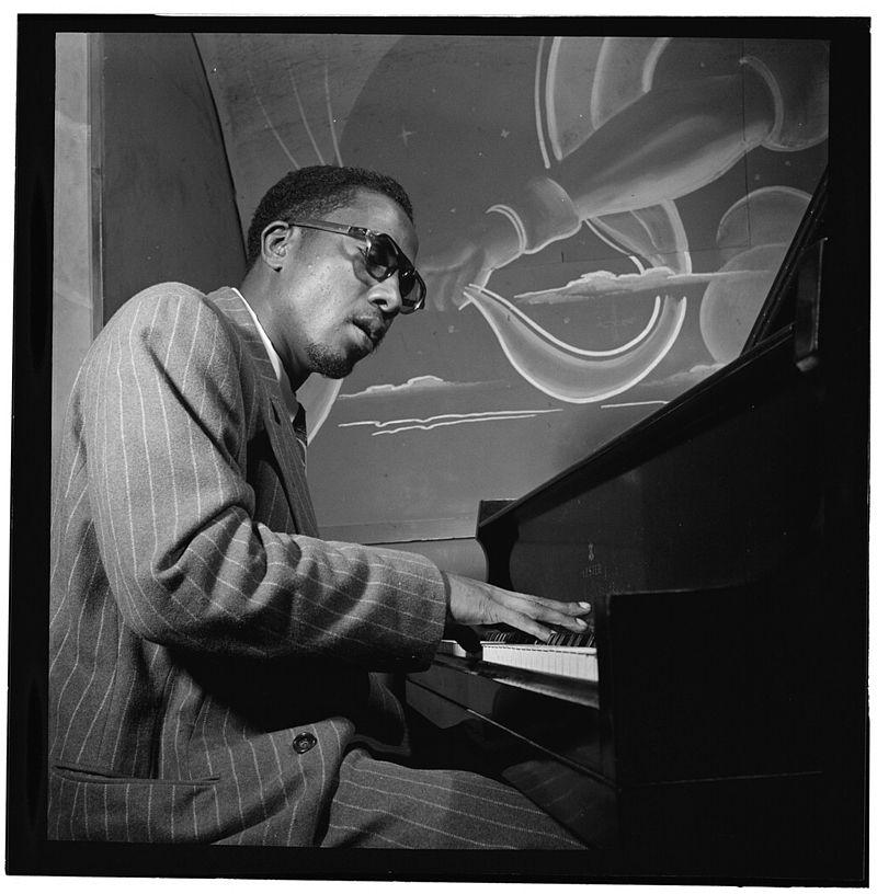 Thelonious Monk at Minton's Playhouse, New York, 1947