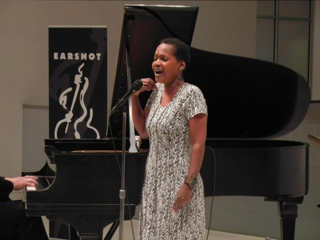 LaVon Hardison performing at the Seattle Art Museum