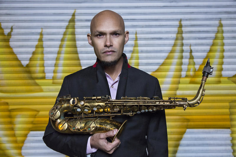 "Saxophonist Miguel Zenón's album ""Típico"" is nominated for a Latin Grammy"