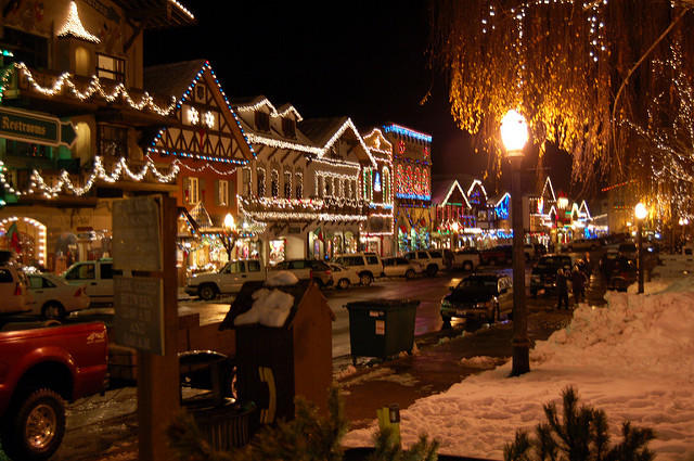 Leavenworth's holiday lights are a big draw for visitors. But the town retains its winter charm well past the holidays.
