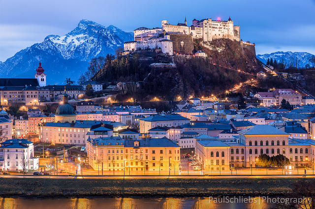 Fall and winter can be beautiful times to visit Salzburg, Austria.