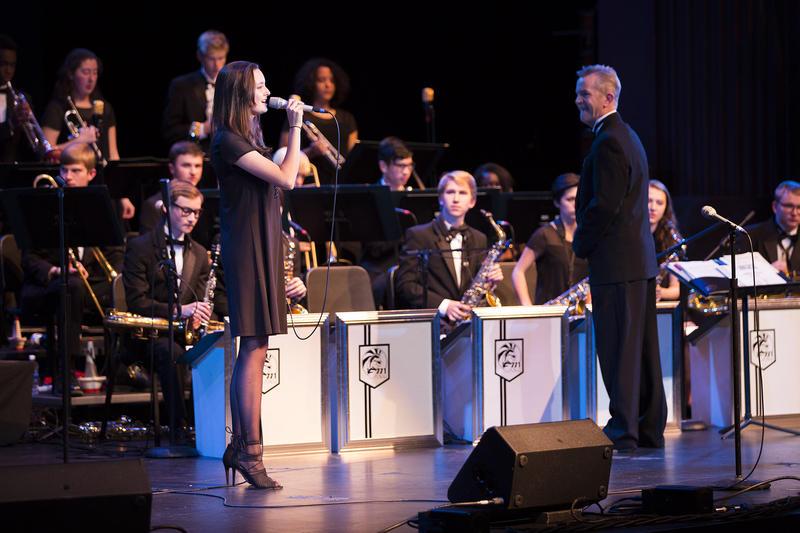 Natalie Whitlock and Edmonds-Woodway High School Jazz Ensemble
