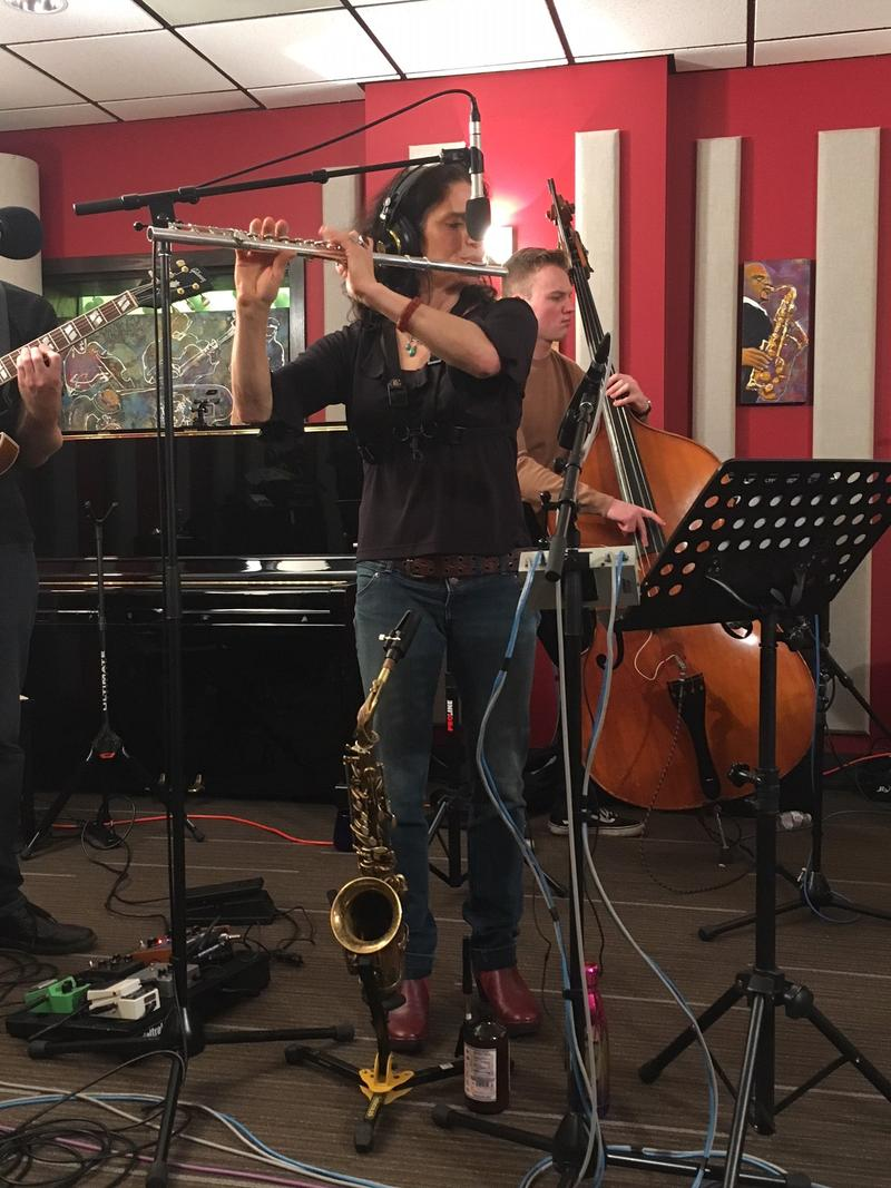 Jessica Lurie and her NW Ensemble live on KNKX