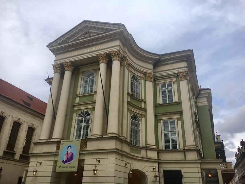 The Estates Theatre in Prague is one of Europe's oldest.