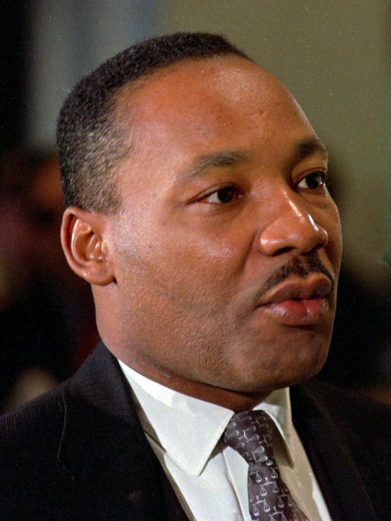 Dr. Martin Luther King, Jr. in Atlanta, GA 1966