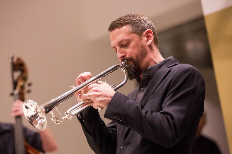 Eric Esvelt on trumpet.