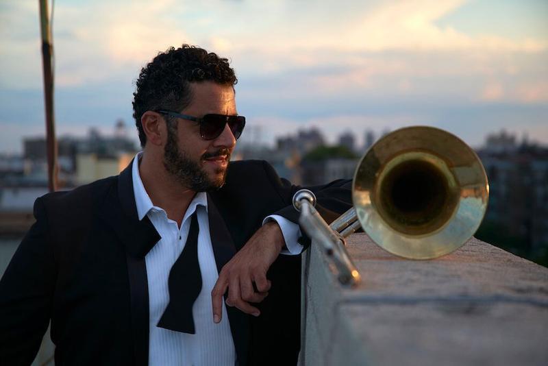 Trombonist Doug Beavers whose latest CD