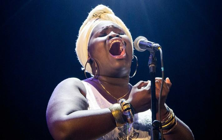 Daymé Arocena at the New Era concert in Havana, 2016