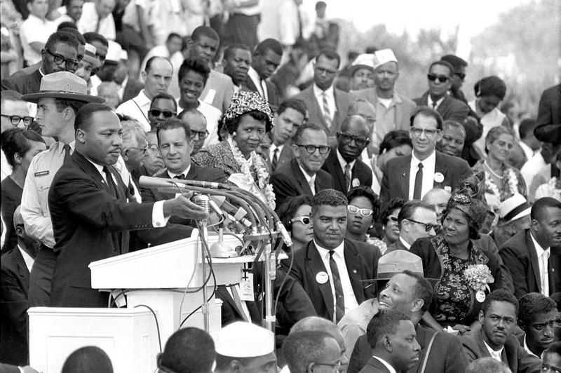 "Martin Luther King Jr. delivered his ""I Have a Dream"" speech 55 years ago this August, in Washington, D.C."