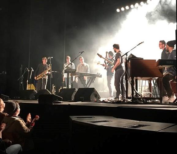 Snarky Puppy feels the love from their fans at Seattle's Moore Theater.