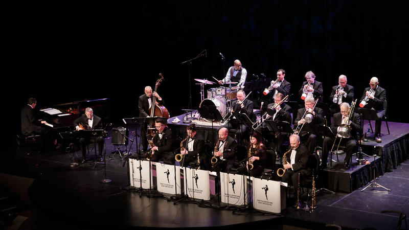 Seattle Repertory Jazz Orchestra in concert at Kirkland Performance Center