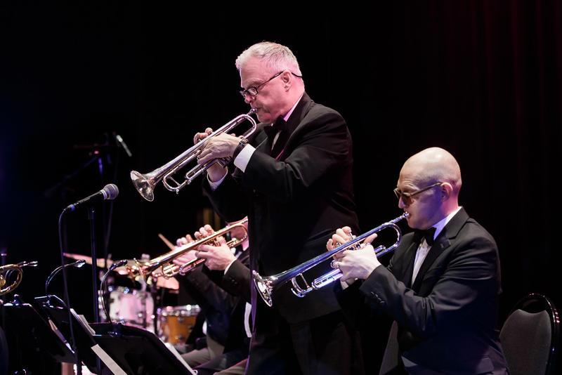 SRJO trumpet soloists Jay Thomas and Thomas Marriiott