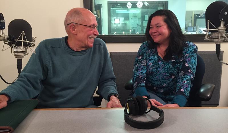 Retired King County Superior Court, Judge Ronald Kessler and Seattle TImes Reporter, Christine Clarridge in the Belltown Studios of 88.5 KNKX NPR.