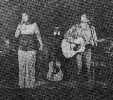 The only known photo in existence of a Lavender Country performance.