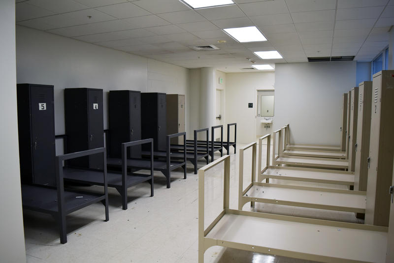 Interior of Snohomish County diversion center