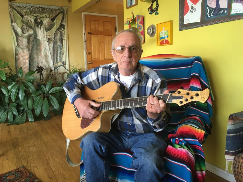 Patrick Haggerty at home in Bremerton