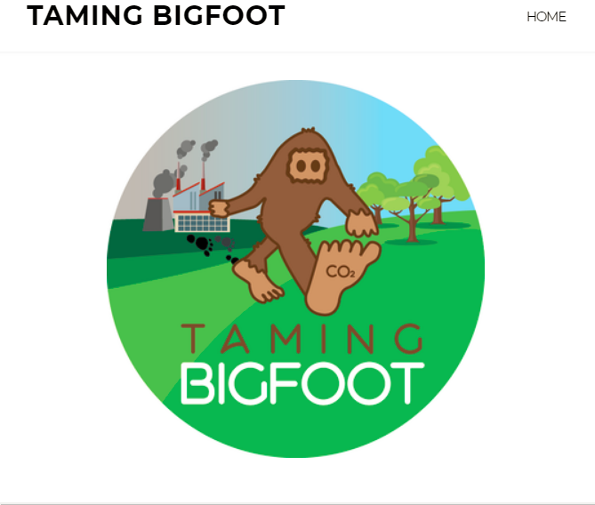 "A screenshot from the Seattle group's online portal for playing ""Taming Bigfoot."""