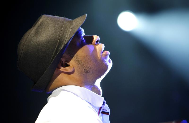 Cuban pianist Roberto Fonseca performs at the Five Continents Jazz Festival, in Marseille, southern France, 2014.