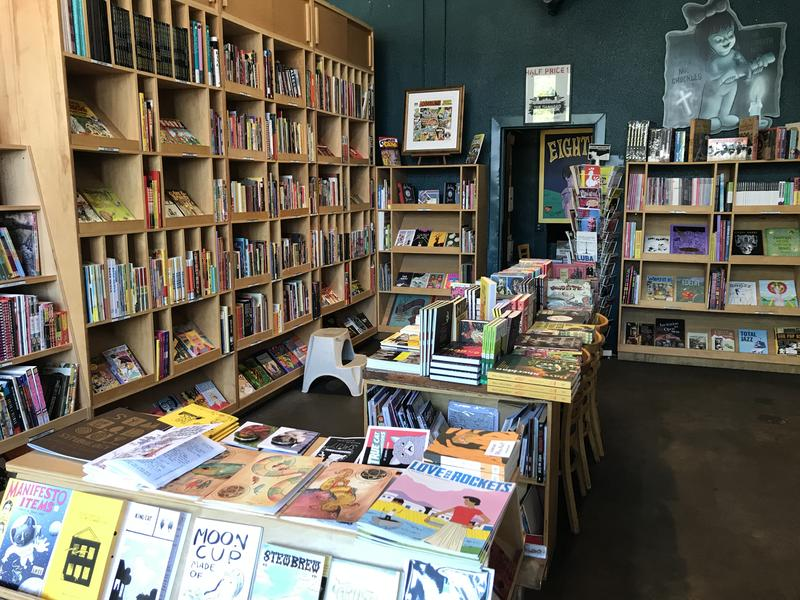 Fantagraphics Bookstore in Seattle's Georgetown neighborhood