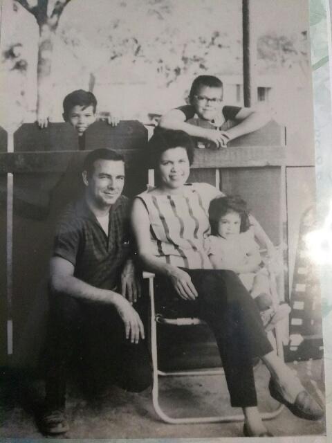 The Lewis family, circa 1964