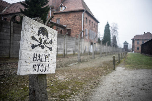 The former Nazi concentration camp Auschwitz-Birkenau sits about an hour west of Krakow.